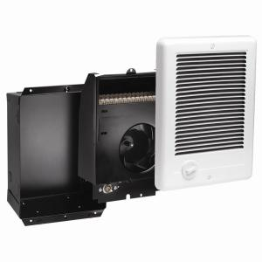 Cadet Com-Pak 1,500-Watt 240-Volt Fan-Forced In-Wall Electric Heater in White by Electric Heaters
