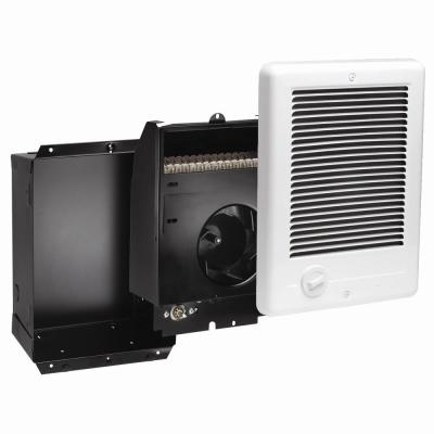 Com-Pak 1,500-Watt 240-Volt Fan-Forced In-Wall Electric Heater in White
