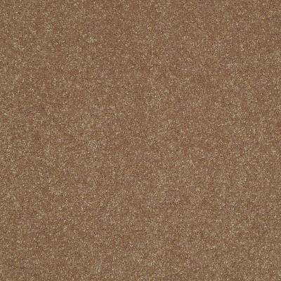 Carpet Sample - Full Bloom I 12 - In Color Straw Flower 8 in. x 8 in.