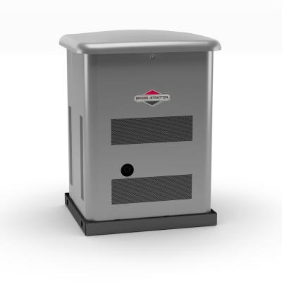 12,000-Watt Automatic Air Cooled Standby Generator with 200 Amp Whole House Transfer Switch