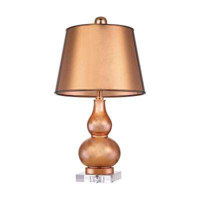 Mimosa 23 in. Copper Table Lamp