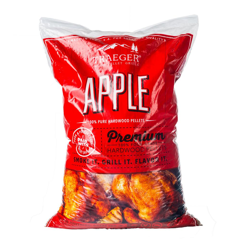 20 lb. Apple Wood Pellets Bag