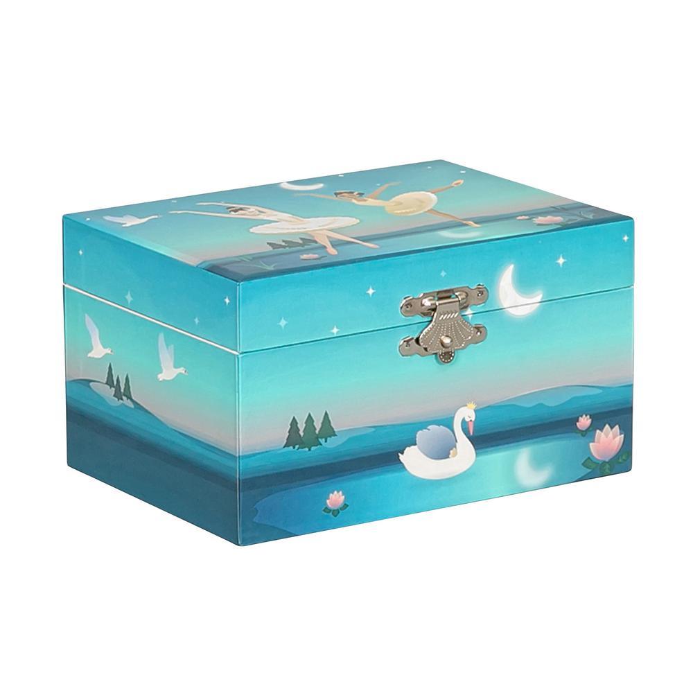Marlo Girl's Musical Ballerina Jewelry Box