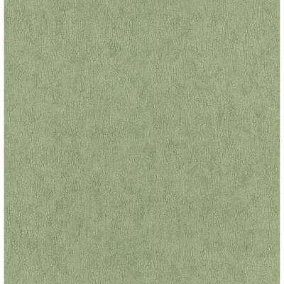Northwoods Lodge Green Crackle Texture Wallpaper Sample