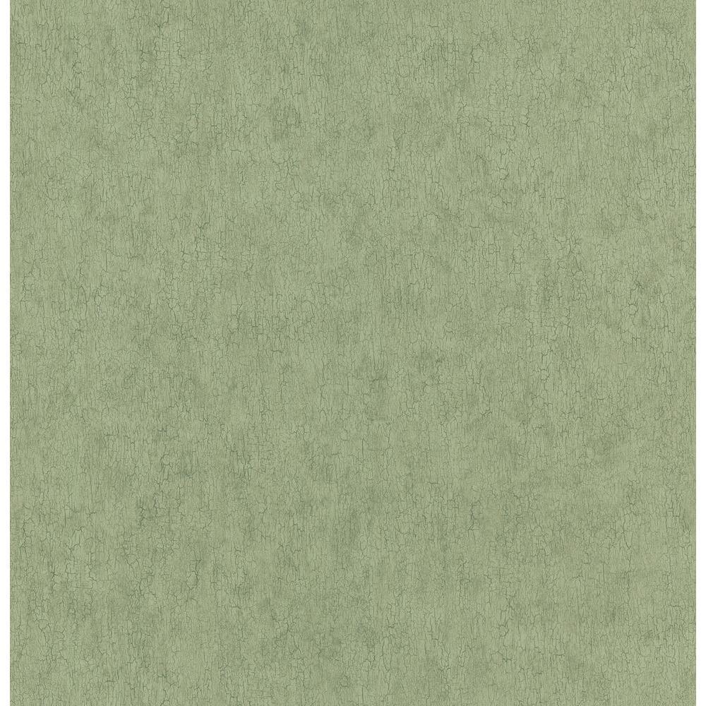 Northwoods Lodge Green Crackle Texture Wallpaper Sample