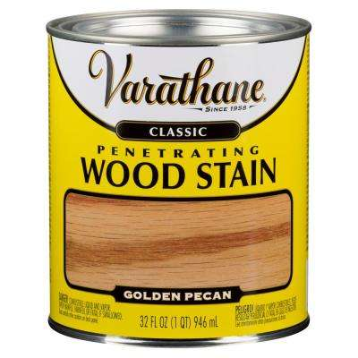 1 qt. Golden Pecan Classic Wood Interior Stain (2-Pack)