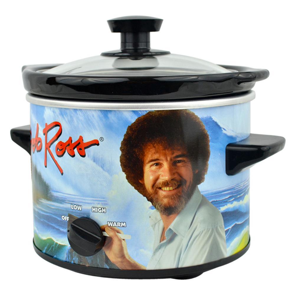Bob Ross 2 Qt. Slow Cooker Blue