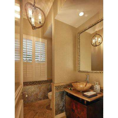 Emery Hill 45 in. x 30 in. Rectangle Beveled Mirror