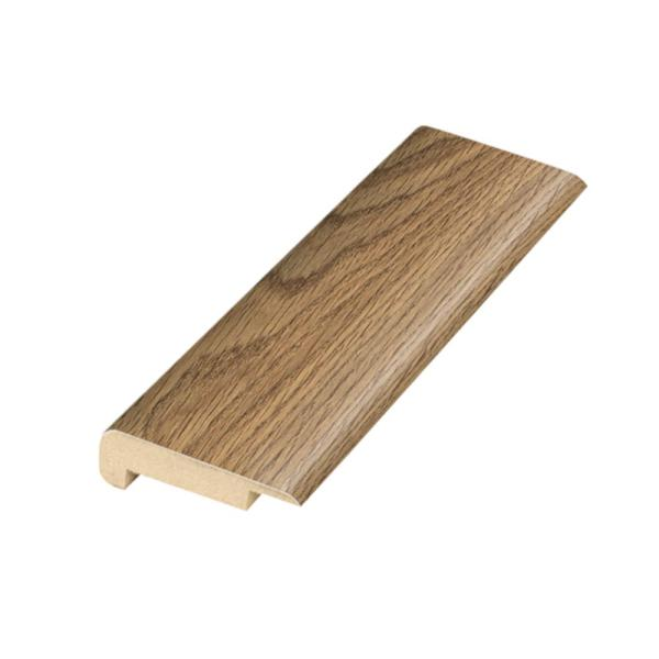 Honeysuckle Oak .75 in. Thick x 2.36 in. Wide x 78.7 in. Length Laminate Stairnose Molding