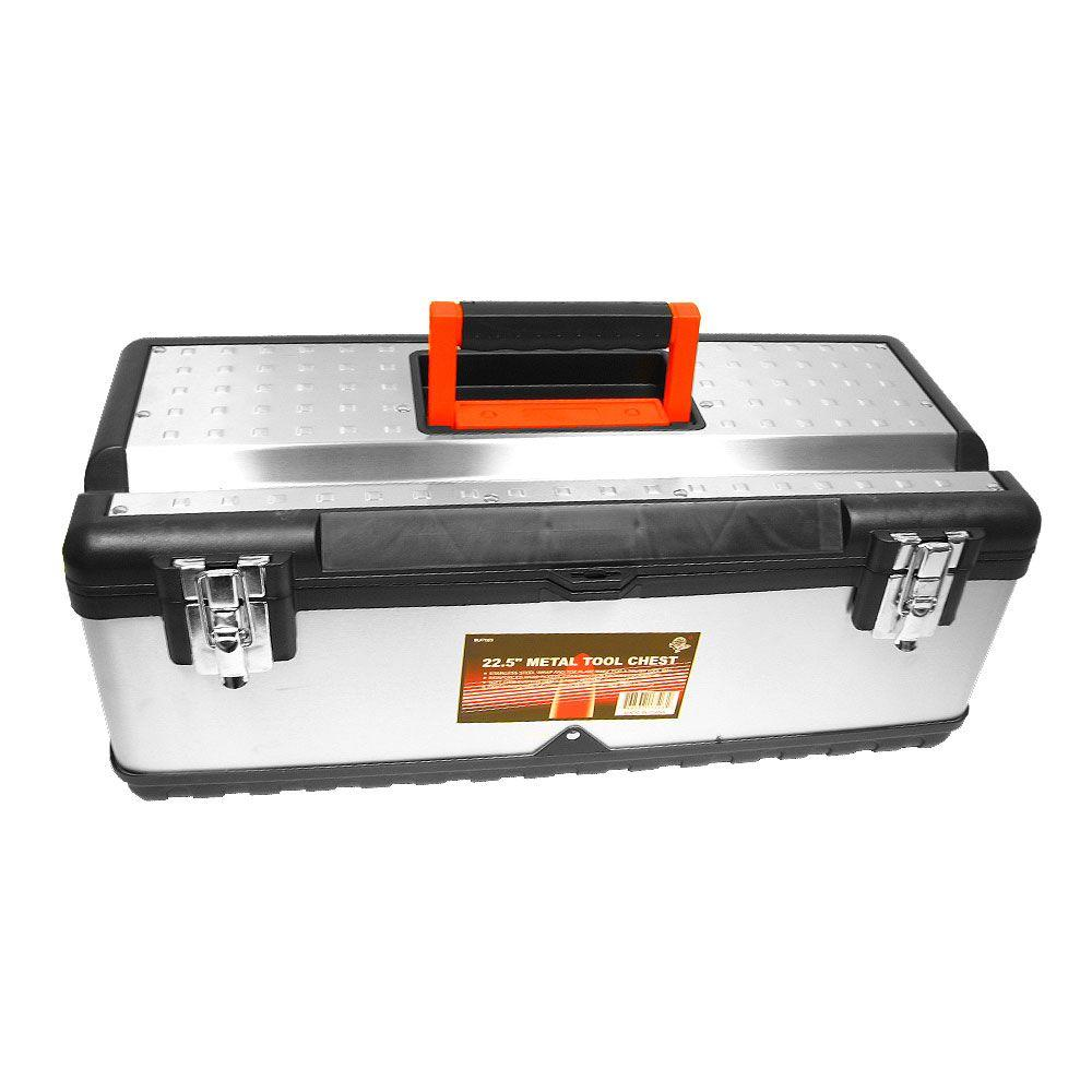Stalwart Tough Stainless Steel Tool Chest