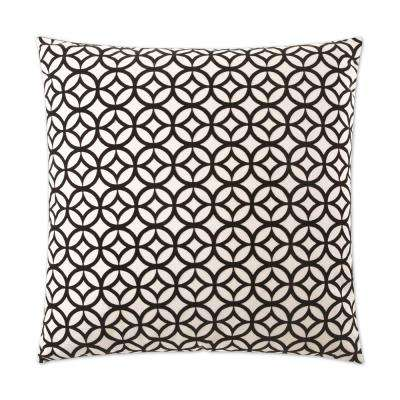 Prisim Feather Down 24 in. x 24 in. Standard Decorative Throw Pillow