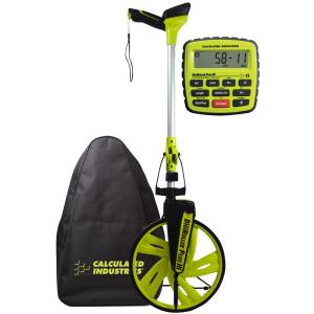 Calculated Industries 12.5 inch DigiRoller Plus III Digital Measuring Wheel by Calculated Industries