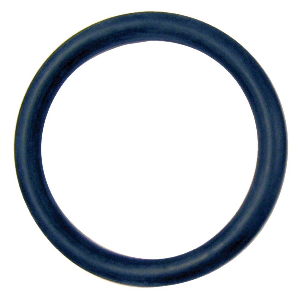 The Hillman Group 7/16 in. O.D x 1/4 in. I.D x 3/32 in. Thickness Neoprene 'O' Ring (12-Pack)