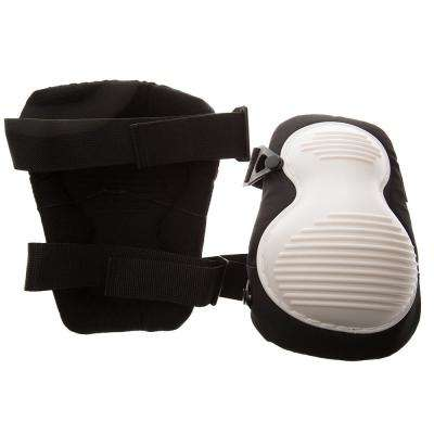 Black/White Molded Knee Pad (Pair)