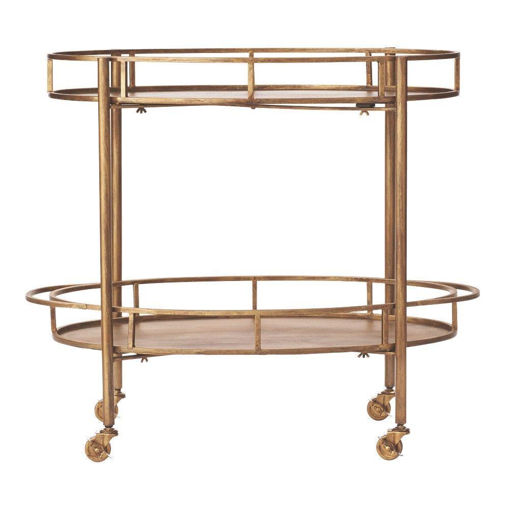 Eliza Gold Bar Cart