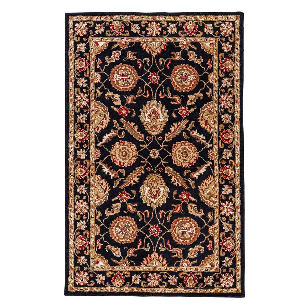 Jaipur Rugs Jet Black 12 Ft X 15 Oriental Area Rug