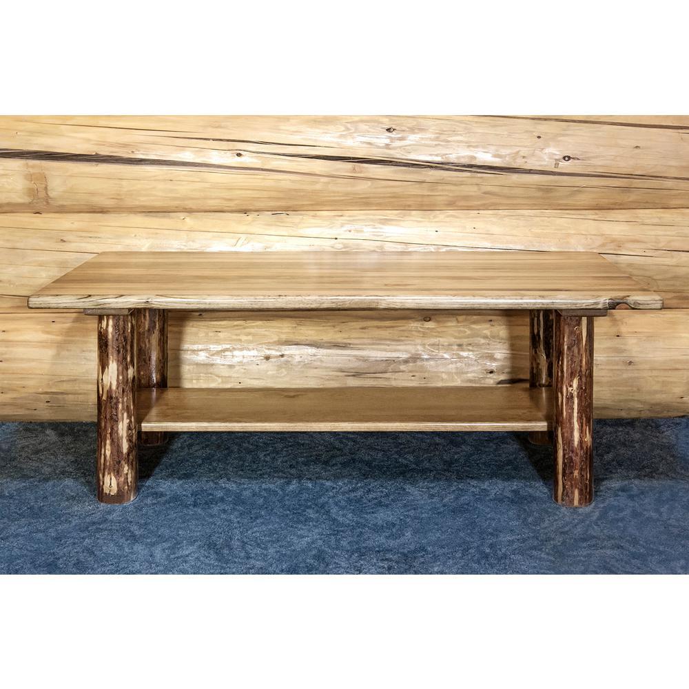 Glacier Country Puritan Pine Storage Coffee Table