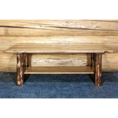 Glacier Country Puritan Pine Storage Coffee Table