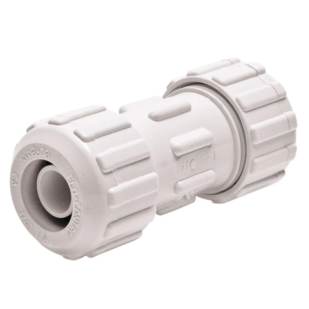 null FloLock 3/4 in. PVC Push to Fit Coupling