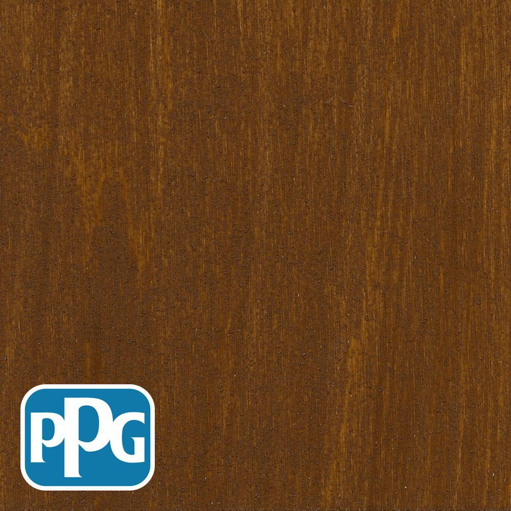 1 gal. TSN-3 Chestnut Brown Satin Semi-Transparent Advanced Oil Exterior Wood Stain