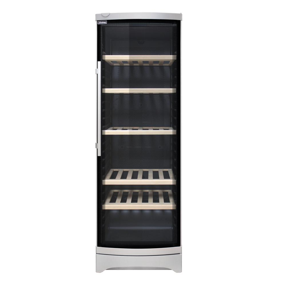 Vinotemp 130 Bottle Wine Cooler With Curved Glass Door