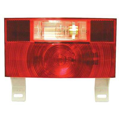 Stop, Turn and Tail Light and License Light with Reflex - with integral Back Up Light
