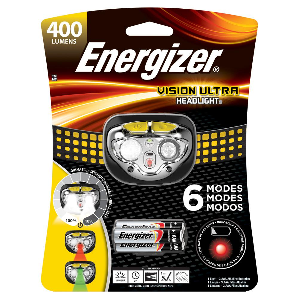 Energizer 400-Lumens Headlamp