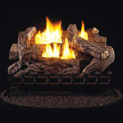 27 in. Vent-Free Propane Gas Log Set with Millivolt Control