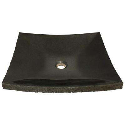 Stone Vessel Sink in Shanxi Black Granite