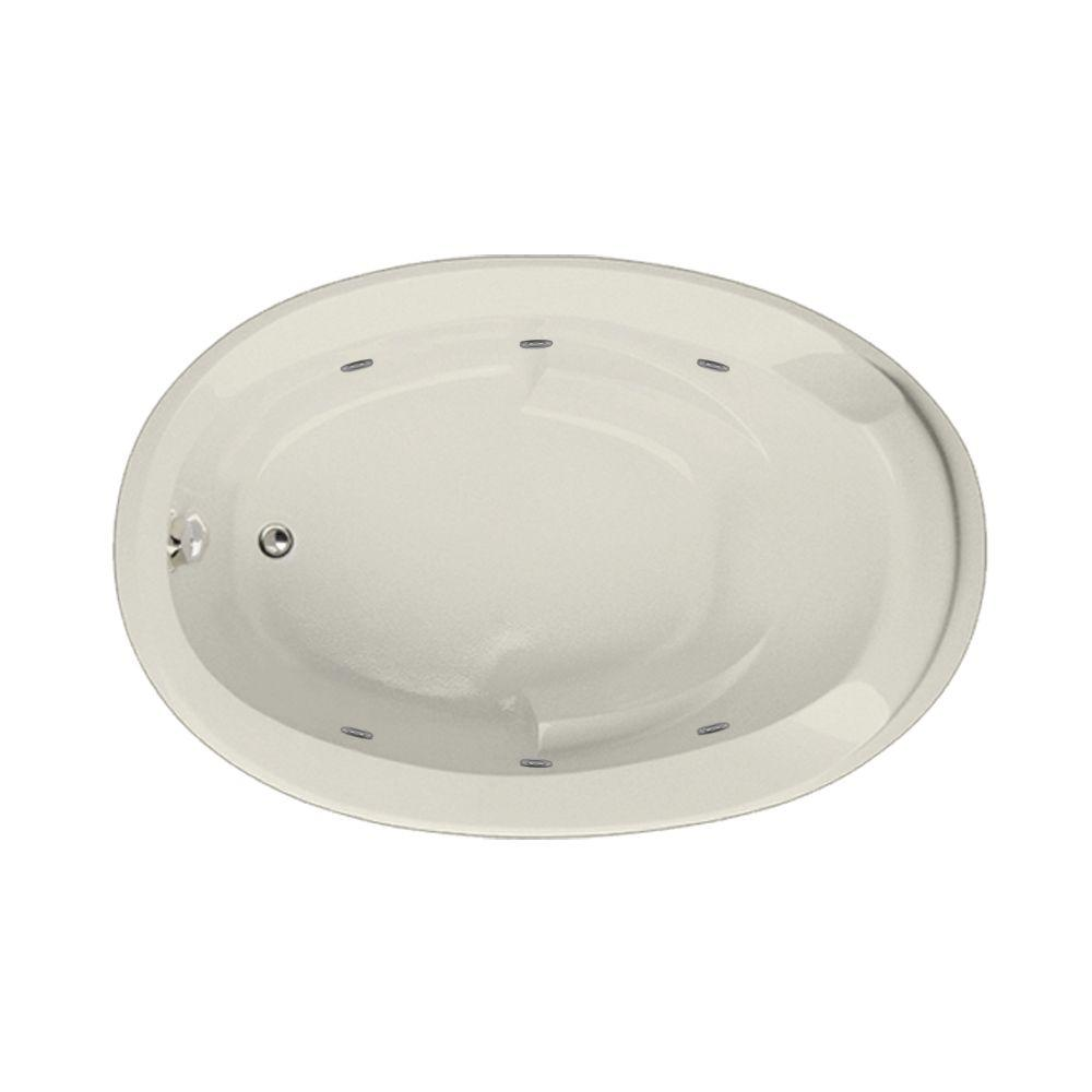 Hartford 5 ft. Reversible Drain Whirlpool and Air Bath Tub in