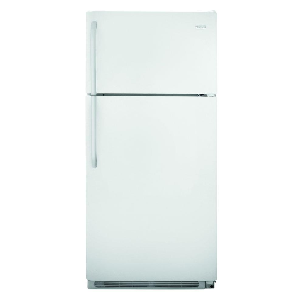 Frigidaire 18 cu. ft. Top Freezer Refrigerator in White