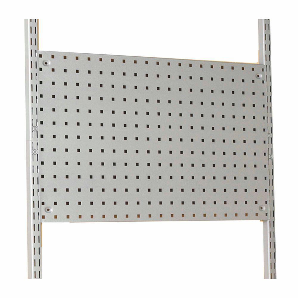 Storability 30-7/8 in. W x 18-3/4 in. H x 1/2 in. D Gray Epoxy Coated Steel LocBoard
