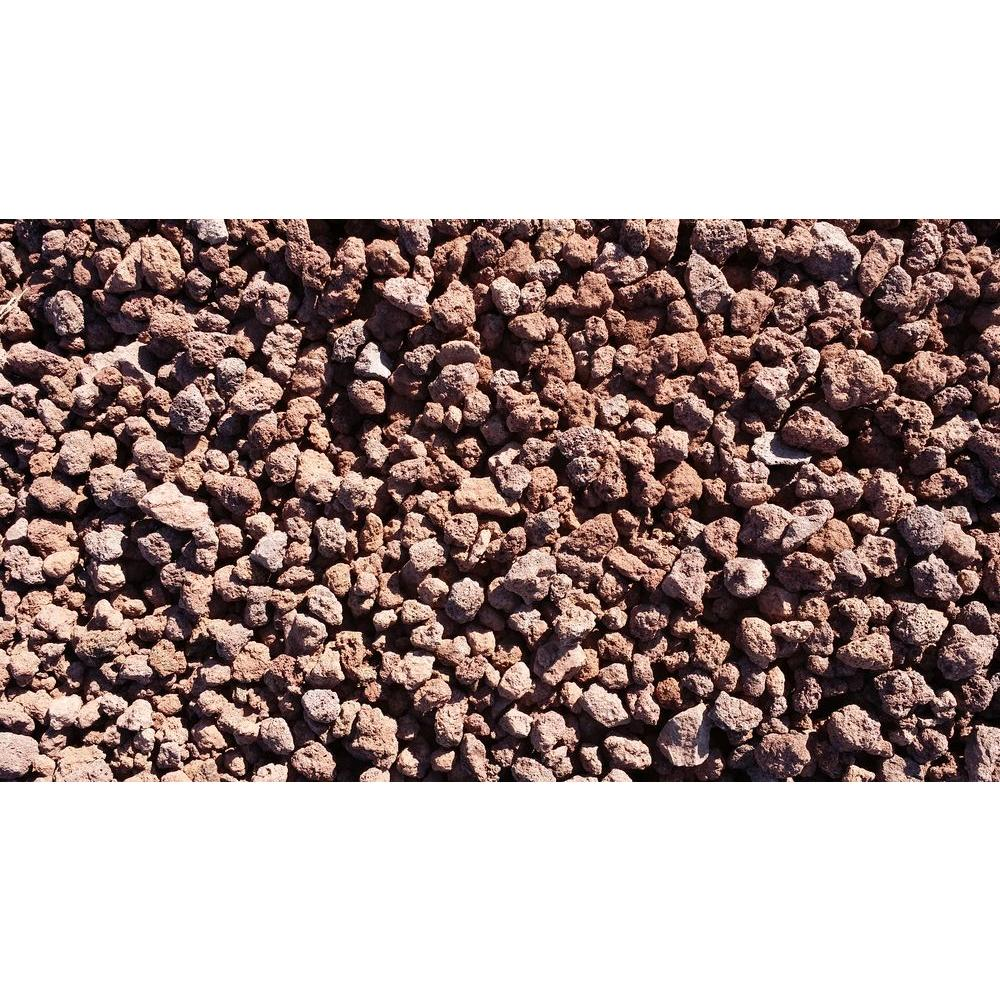 Vigoro 0 5 cu ft red lava r3rl the home depot for Decorative rocks for landscaping near me