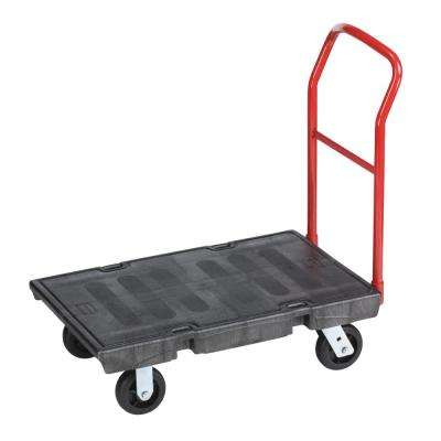 1000 lbs. Capacity Heavy-Duty Platform Truck in Black