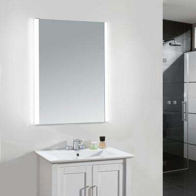 24 in. x 34 in. LED Frameless Single Wall Mirror