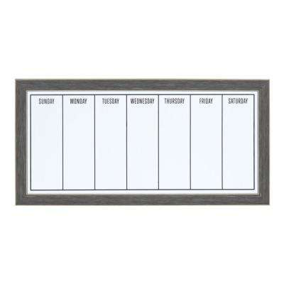 Wyeth Weekly Dry Erase Calendar Memo Board