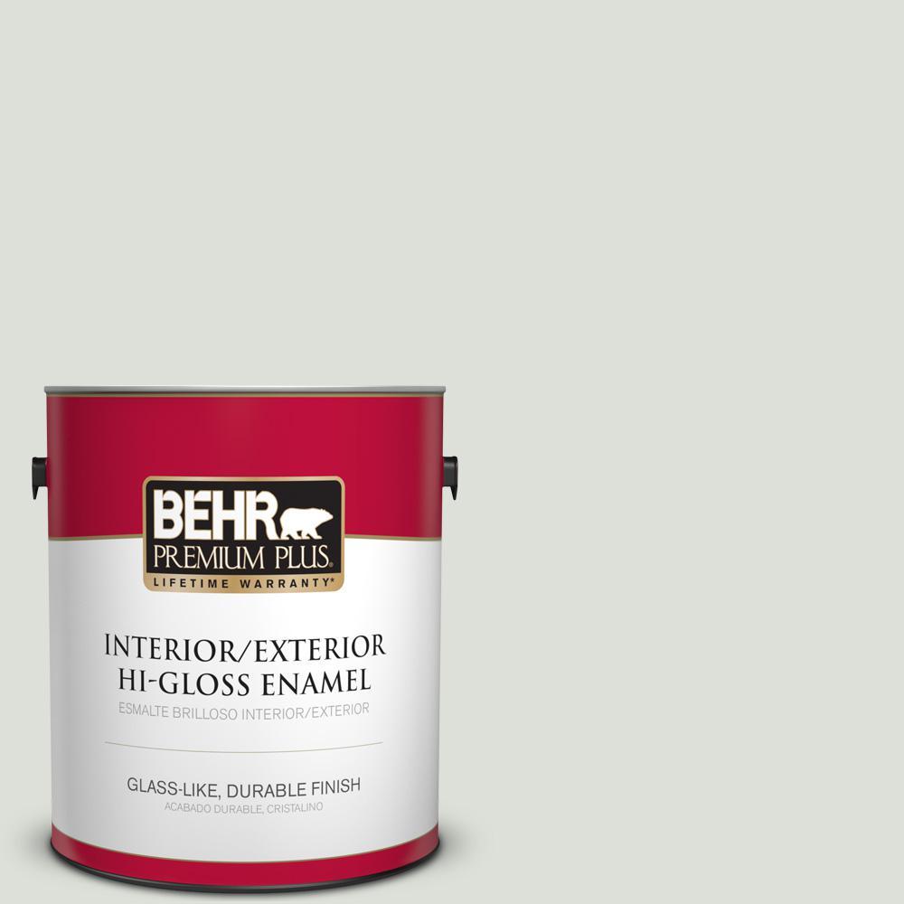 1 gal. #PPU25-11 Salt Cellar Hi-Gloss Enamel Interior/Exterior Paint