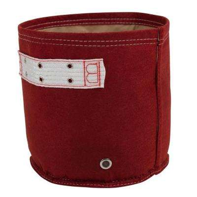 BloemBagz Classic Line 7 Gal. Union Red Fabric Planter