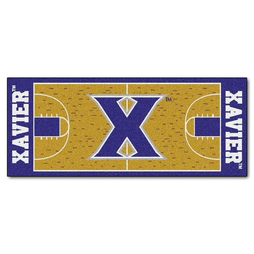Fanmats Xavier University 2 Ft 6 In X 6 Ft Basketball