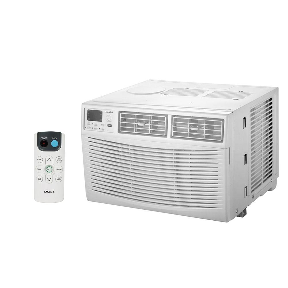 Amana 12,000 BTU Window Air Conditioner with Dehumidifier and Remote