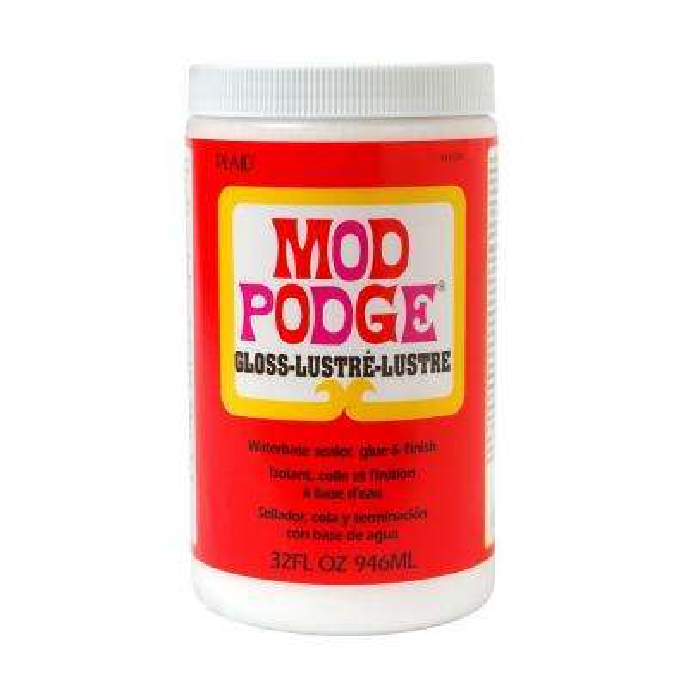 32 oz. Gloss Decoupage Glue