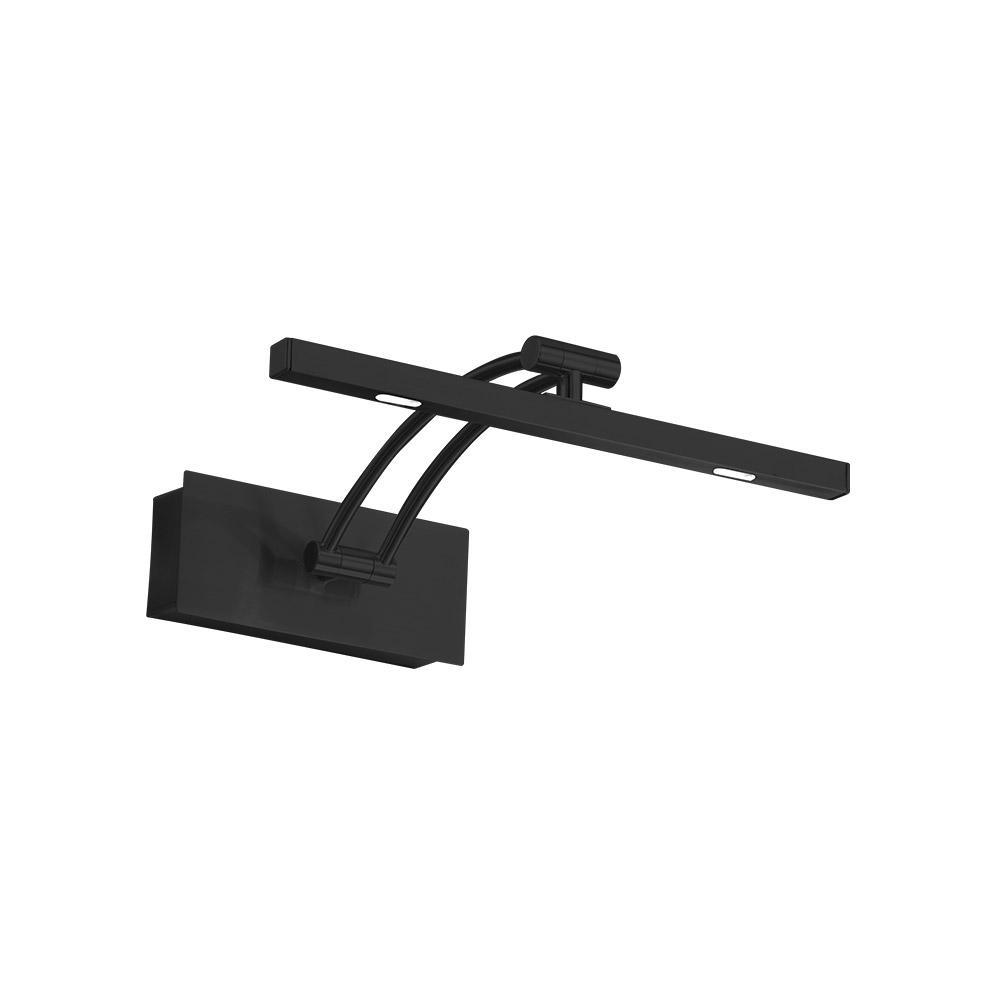 Doreen 1 100-Watt Matte Black Integrated LED Sconce