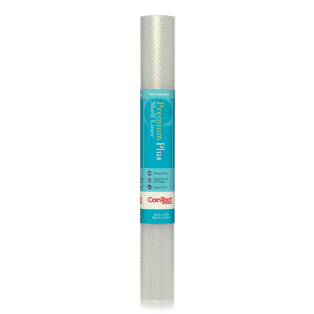 Cabinet Shelf Liner Walmart: Con-Tact Premium Plus Nova Crystal Clear Non-Adhesive