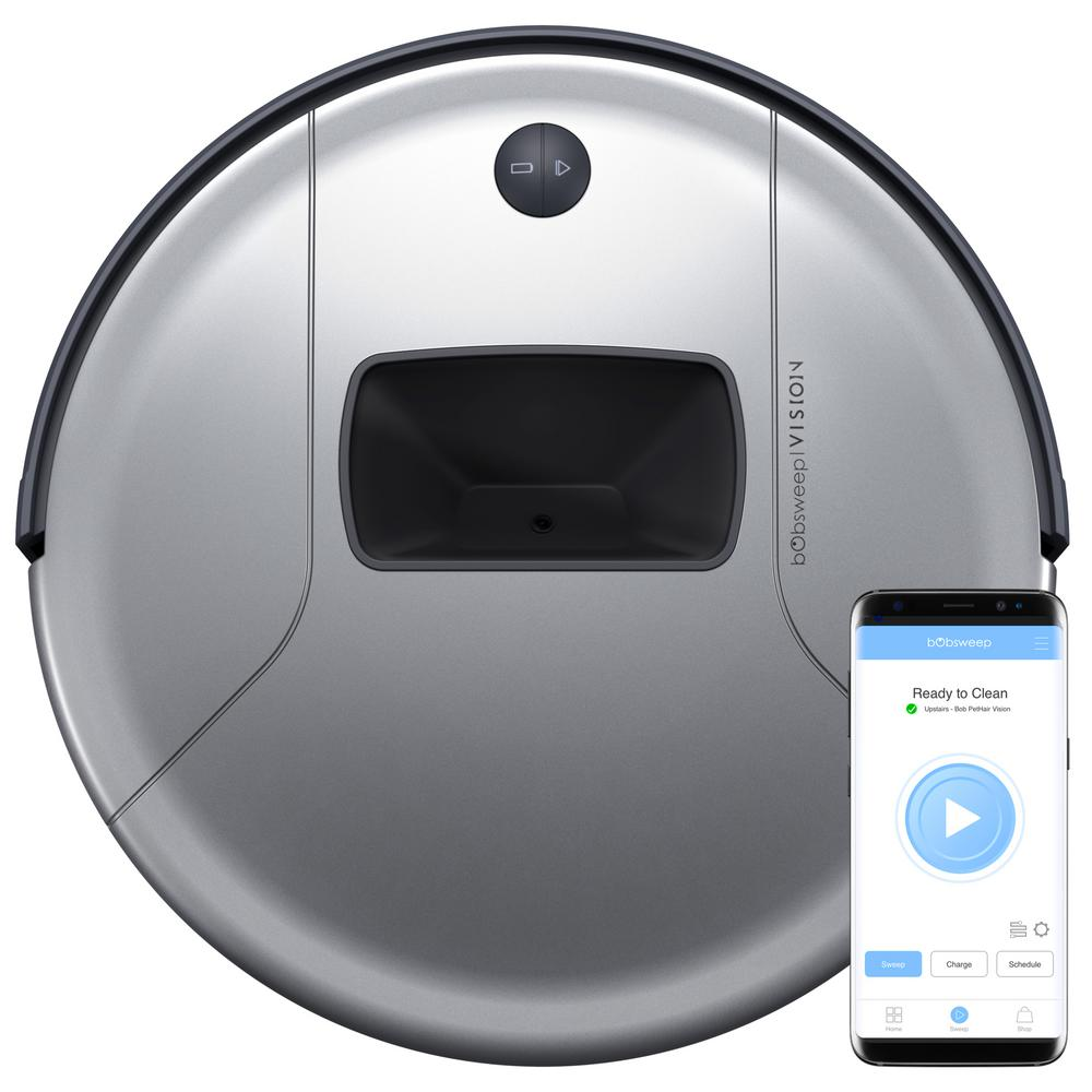 BObsweep PetHair Vision Robot Vacuum on sale