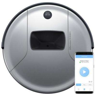 PetHair  Vision Wi-Fi Connected Robot Vacuum Cleaner, Steel