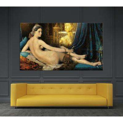 """48 in. x 84 in. """"Odalisque"""" by Daniel Stanford Printed Framed Canvas Wall Art"""