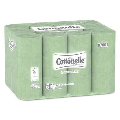 Cottonelle White 2-Ply Coreless Standard Bathroom Tissue (Case of 36)