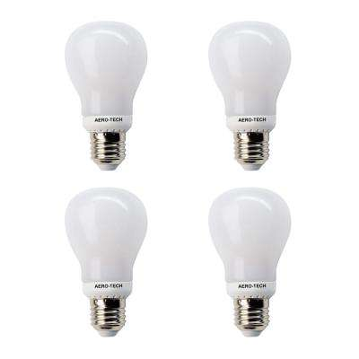 60 - Watt Equivalent A19 5000K Frost 30,000 Hours LED Light Bulb Daylight (4-Pack)