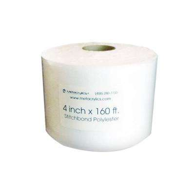 4 in. x 160 ft. Polyester Fabric Stitchbond