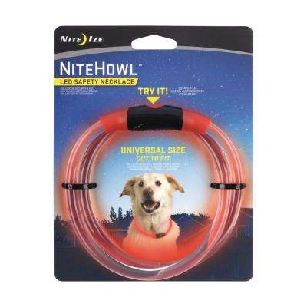 NiteHowl LED Safety Necklace-Red